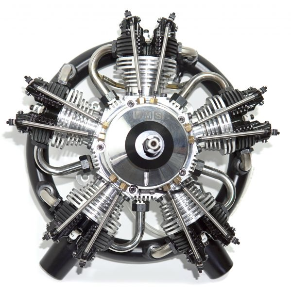 UMS radial-engine, 5 cylinder 125ccm, gas