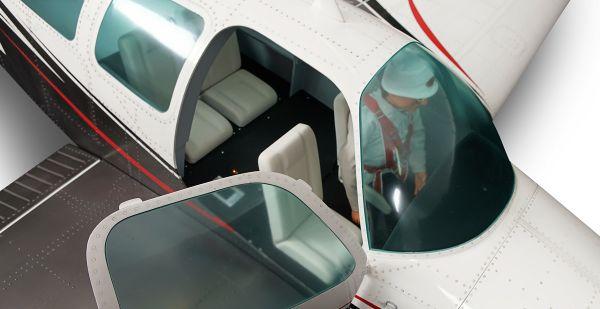 Bonanza V35 Cockpit deluxe einbaufertig