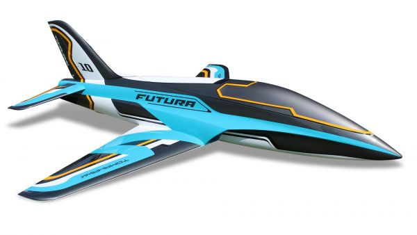 Futura 2,5m full composite kit, painted type E, petrol
