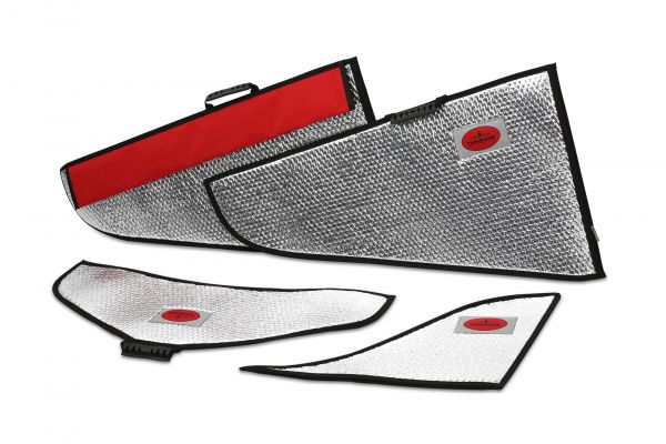 Futura 1,9 m Flächenschutztaschen Set Alu