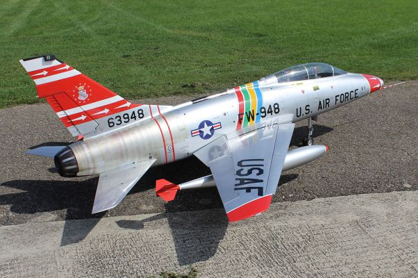 F-100 2,55 m full composite kit, silver