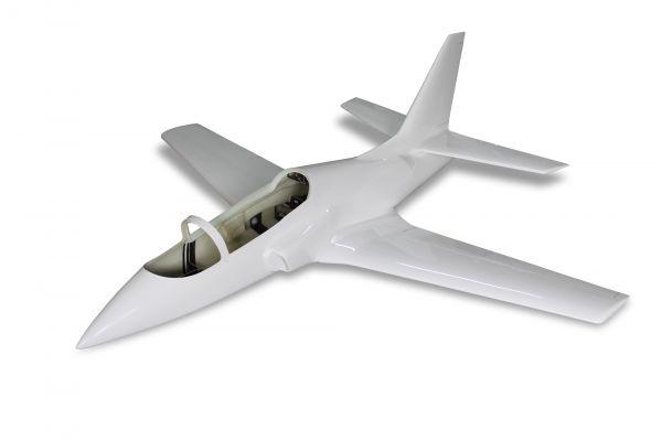 Viper Jet 2,5 m Voll GFK/CFK Bausatz weiß