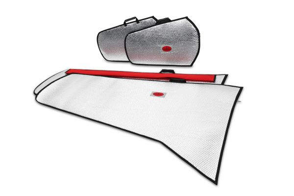 Bonanza V35 Flächenschutztaschen Set Alu