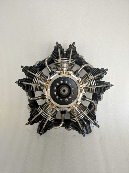 UMS radial-engine, 5 cylinder 210ccm, gas