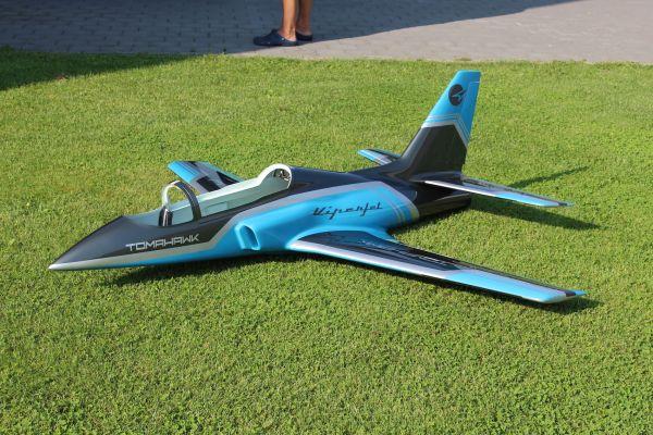 Viper Jet 2,0m Voll GFK/CFK Bausatz lackiert Typ F petrol