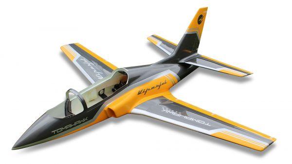 Viper Jet 2,5m Voll GFK/CFK Bausatz lackiert Typ F gelb