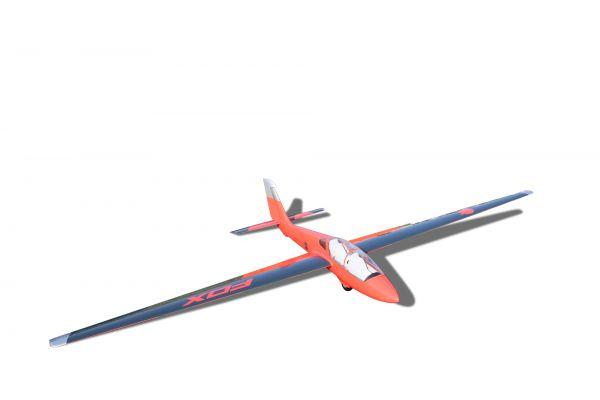 MDM-1 Fox 3,5 m Segler Voll GFK lackiert