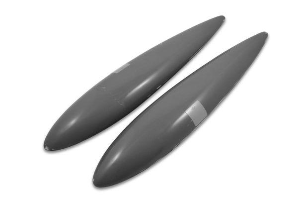 Bonanza V35 tiptanks additional to standard wingtip