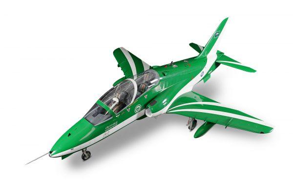 BAE Hawk Mk 66 full composite glass / carbon kit white
